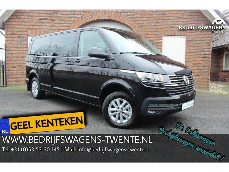 Foto van Volkswagen Caravelle T6 .1 GEEL KENTEKEN 9 PERS. | 150 pk DSG LWB | ELEK. SCHUIFDEUR