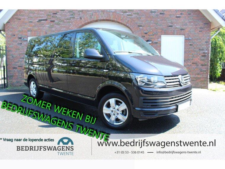 Foto van Volkswagen Transporter T6 2.0 TDI 150 pk Dub/Cab LWB   6 Persoons!