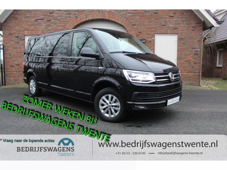 Foto van Volkswagen Caravelle T6 2.0 TDI LR LANG 150 PK DC   2x SCHUIFDEUR   LED  