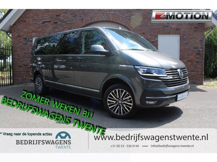 Foto van Volkswagen Multivan T6 .1 199pk DSG 4-MOTION L2H1 | GEEL KENTEKEN