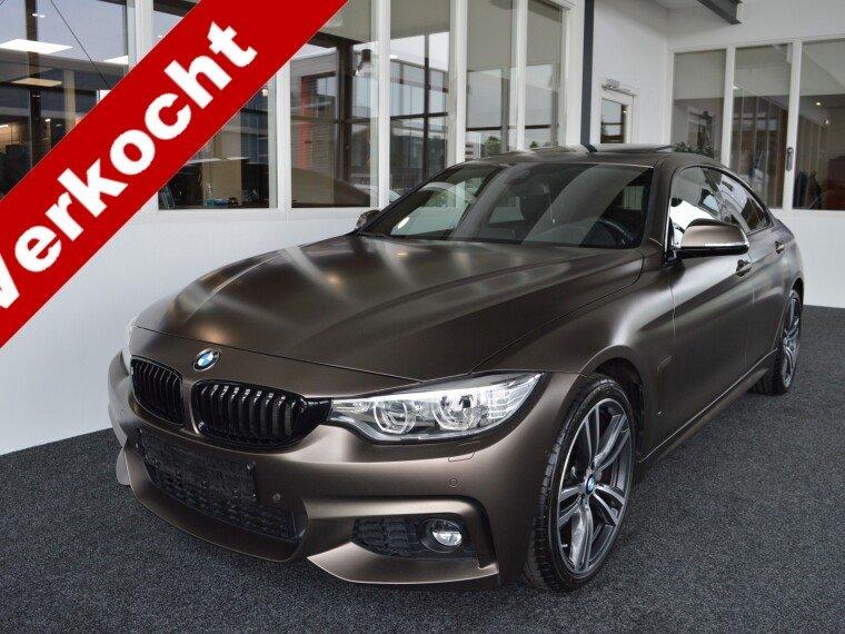 Foto van BMW 4 Serie Gran Coupé 440ix M-Sport Facelift Frozen Bronze Aut8