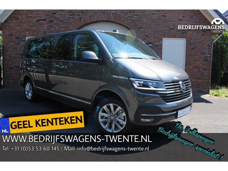Foto van Volkswagen Caravelle T6 .1 Highline 199pk DSG GEEL KENTEKEN 8-pers. | A-DEUREN