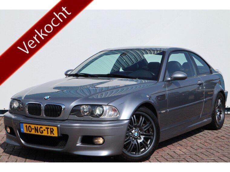 Foto van BMW 3 Serie Coupe M3 343pk 6 bak,Originele NL auto!183.dkm!