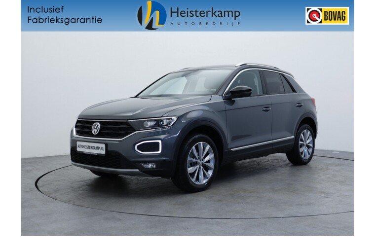 Volkswagen T-Roc 1.5 TSI 150pk DSG/AUT Style Full led, Camera, Winterpakket, Pdc, Airco, Acc