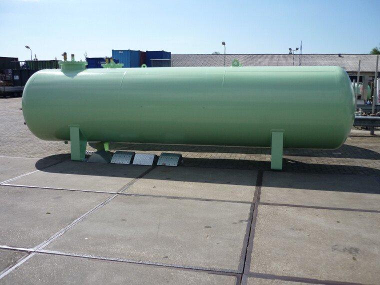 Foto van De Visser Propaan/Butaan LPG tank 13000 L (6,5 ton)