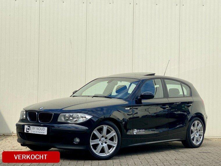 Foto van BMW 1 Serie 118d High Executive, 123Pk, 2004,
