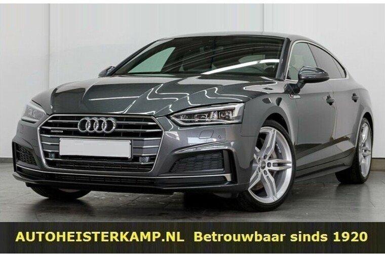 Audi A5 Sportback 50 TDI quattro Sport S-line 286 PK B en O 19 Inch Camera