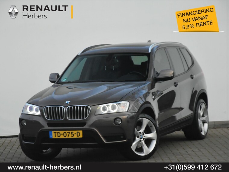 Foto van BMW X3 BMW X3 30d Xdrive / 260PK / High Executive / PANORAMA / 20INCH / NAVI / NETTE AUTO