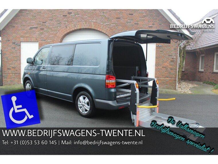 Foto van Volkswagen Transporter 1.9 TDI 86 PK ROLSTOELBUS MARGE/BPM VRIJ | ELEK. LIFT |