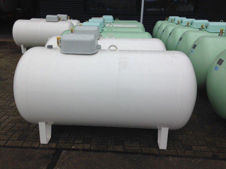 Foto van De Visser Propaan/Butaan LPG tank 1600 L (0,8 ton)
