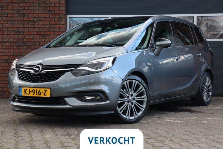 Foto van Opel Zafira 1.4 Turbo Edition 7p.
