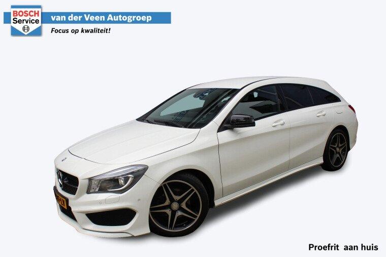 Foto van Mercedes-Benz CLA-Klasse Shooting Brake 200 OrangeArt Edition