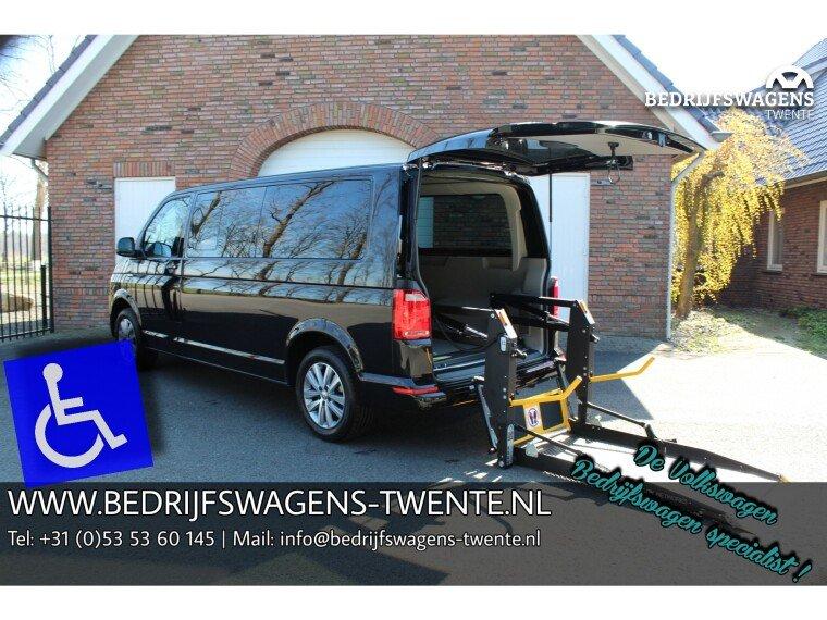 Foto van Volkswagen Transporter T6 LR LANG 150 PK DSG ROLSTOEL AANGEPAST | Elektr. LIFT