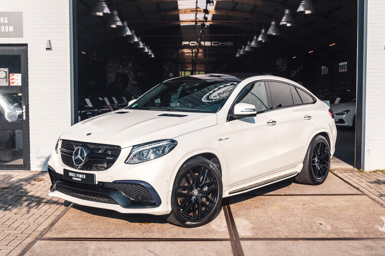 Foto van Mercedes-Benz GLE Coupé 63 AMG 4MATIC Airmatic * Distronic+ * Panoramadak * AMG Driver's Package * B&O *