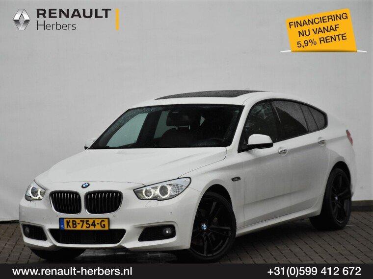 Foto van BMW 5 Serie Gran Turismo 535XD High Ex. / PANORAMA / LEDER / HUD / GROOT NAVI / VOLL OPTIES
