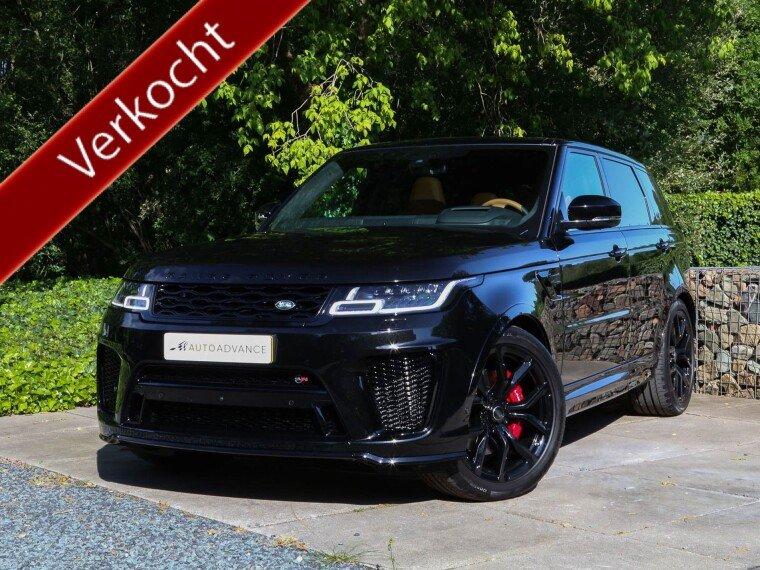 Foto van Land Rover Range Rover Sport SVR MY2020