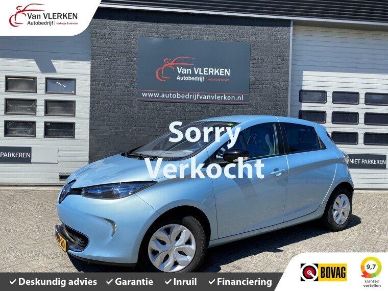 Foto van Renault ZOE Q210 Zen Quickcharge 22 kWh (ex Accu huur )