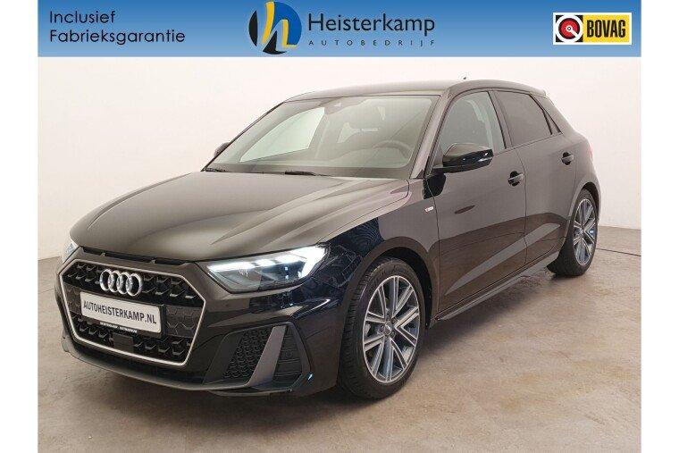 Audi A1 Sportback 30 TFSI 115 PK S Line DSG/AUT LED lampen, Navigatie, Parkeersensoren