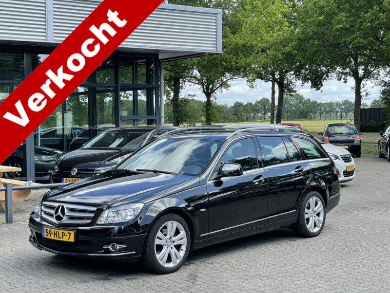Foto van Mercedes-Benz C-Klasse Estate 180 K Avantgarde Navigatie/Clima/Trekhaak/Nette staat