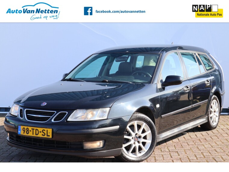Foto van Saab 9-3 Sport Estate 1.9 TiD 120pk 6bak, Linear Business