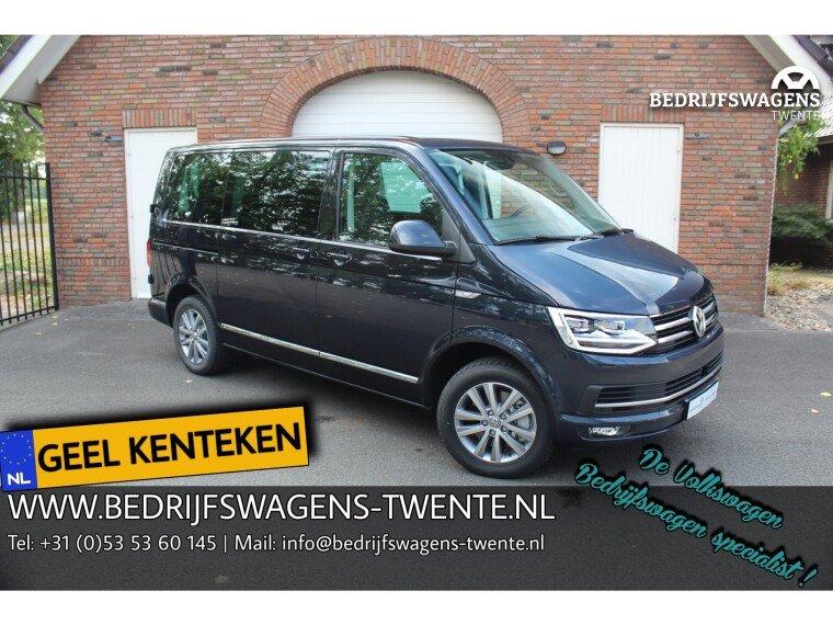Foto van Volkswagen Caravelle T6 KR 204PK DSG TDI HIGHLINE PKW | GEEL KENTEKEN