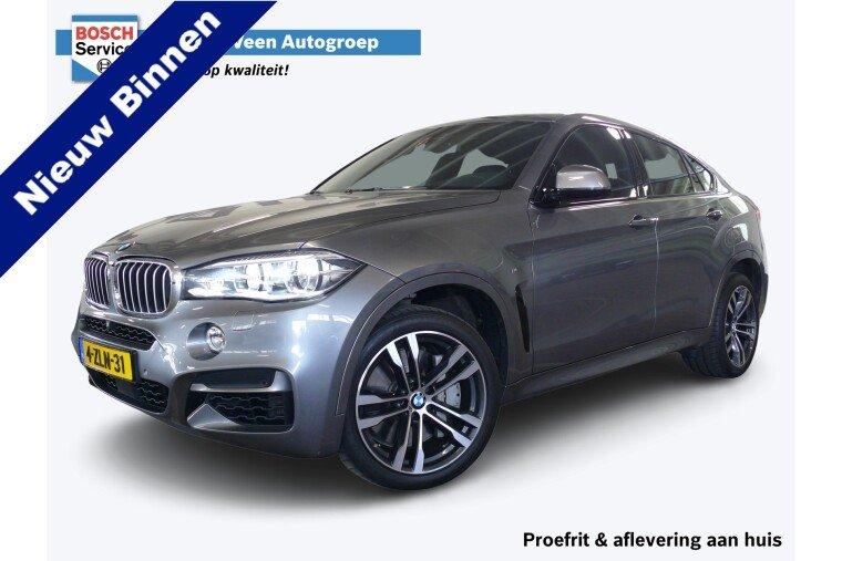 Foto van BMW X6 M50d 381pk Automaat | Dvd Achterin |