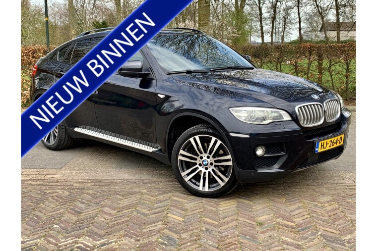Foto van BMW X6 xDrive40d High Executive   Facelift   Head up   306PK - Incl. 3 mnd Garantie!