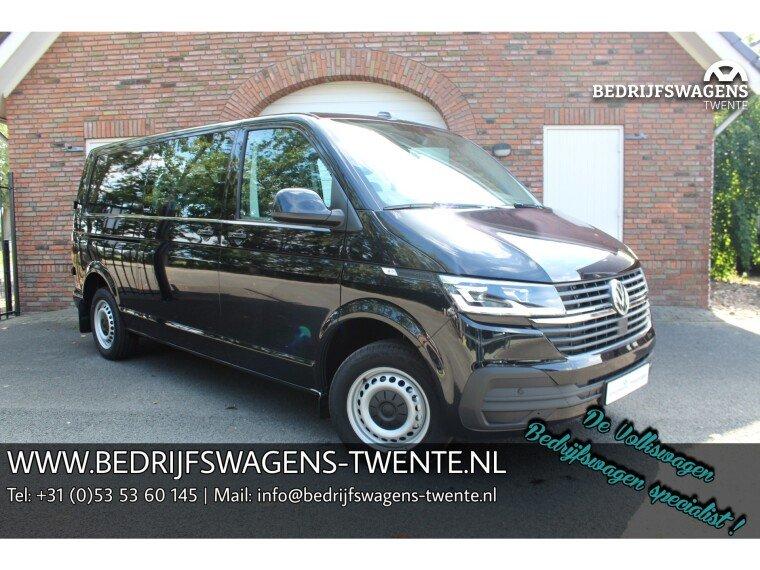 Foto van Volkswagen Transporter T6 .1 NIEUW MODEL 150 pk DSG LWB LUXE Dub/Cab