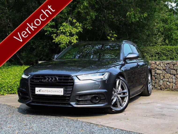 Foto van Audi A6 Avant 3.0 TDI Quattro S-Line Black Optics