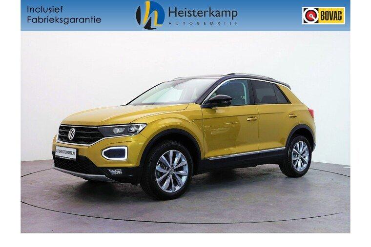 Volkswagen T-Roc 1.0 TSI 115PK Style LED verl, Adaptive cruise, Navi, Camera