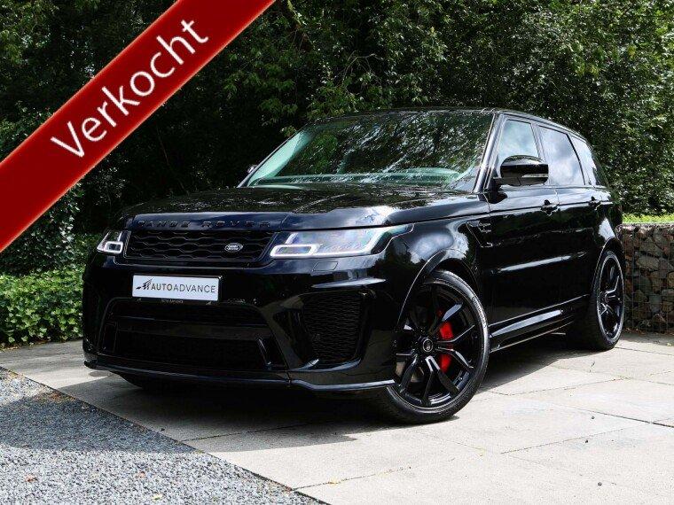 Foto van Land Rover Range Rover Sport D300 SVR Commercial / Grijs Kenteken