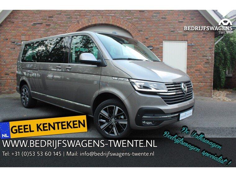 Foto van Volkswagen Caravelle T6 .1 Highline 199pk DSG 8-PERS. GEEL KENTEKEN INCL. BTW/BPM