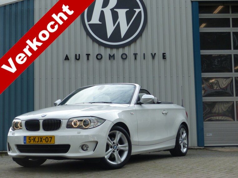 Foto van BMW 1 Serie Cabrio 118i Exclusive Edition