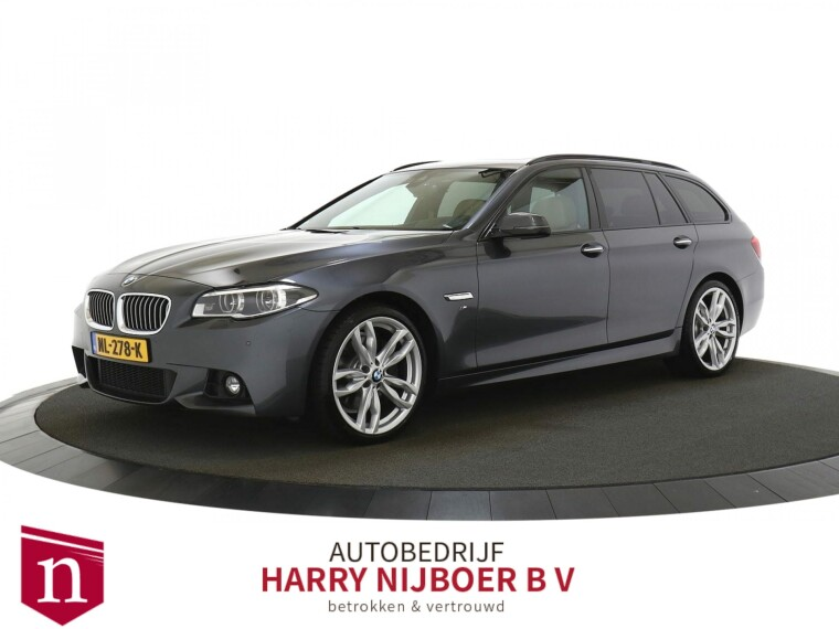 BMW 5 Serie Touring 530xd M Sport Edition High Executive Bomvolle Auto!!