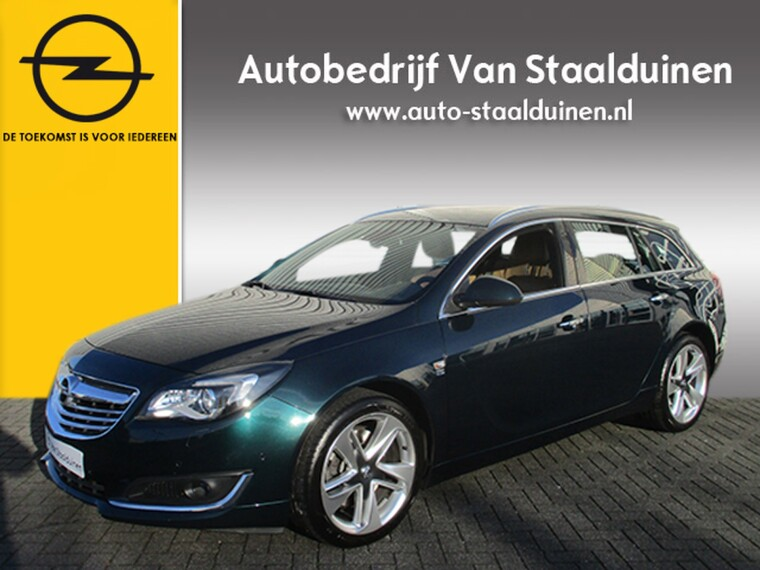 Foto van Opel Insignia Sports Tourer 2.0 T Cosmo 4x4