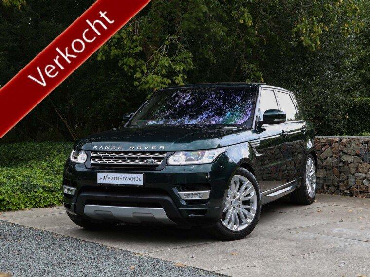 Foto van Land Rover Range Rover Sport 3.0 TDV6 HSE Grijs Kenteken / Commercial