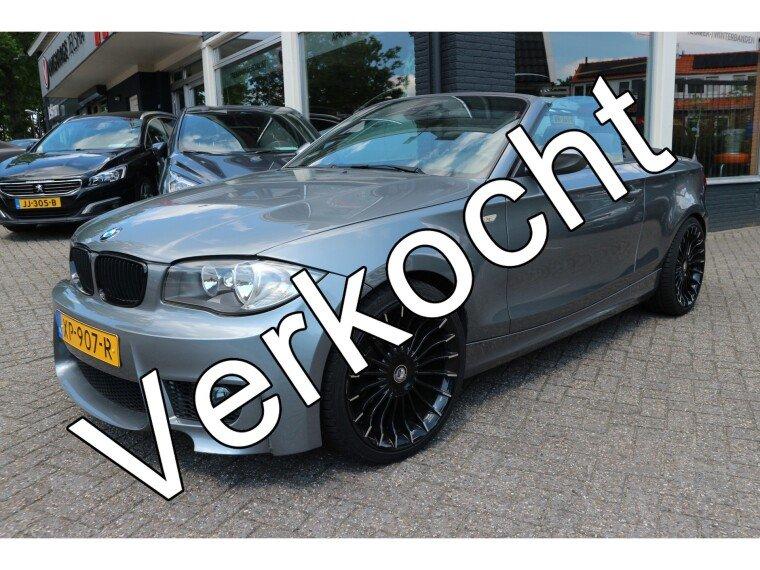 Foto van BMW 1 Serie Cabrio 118i High Executive