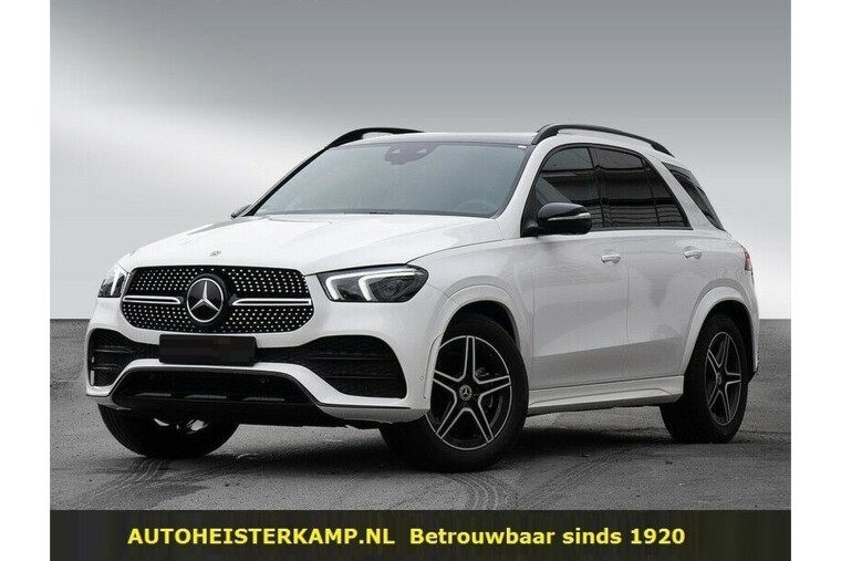Mercedes-Benz GLE-Klasse 300 d 4MATIC Grijs Kenteken AMG Distronic Panoramadak