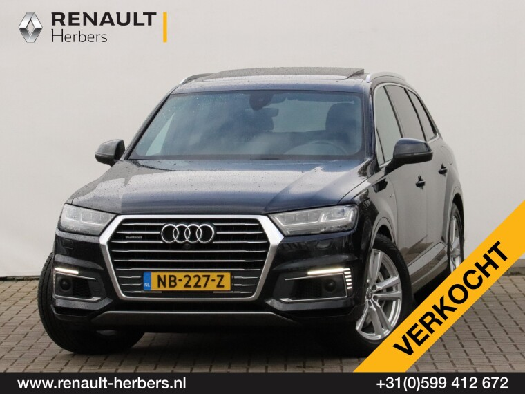Foto van Audi Q7 3.0 TDI E-Tron S-Line / MARGE / MATRIX / PANO / VIRTUAL / LUCHTVERING / ADAPT CRUISE / TREKHAAK
