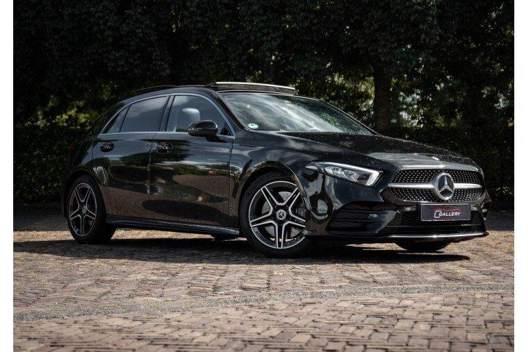 Foto van Mercedes-Benz A-Klasse 250 Premium Plus   Panorama   Ambilight   ACC - Incl 6 mnd GARANTIE!