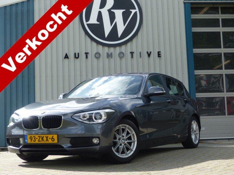 Foto van BMW 1 Serie 116i 136PK/Leder/Sport inter/