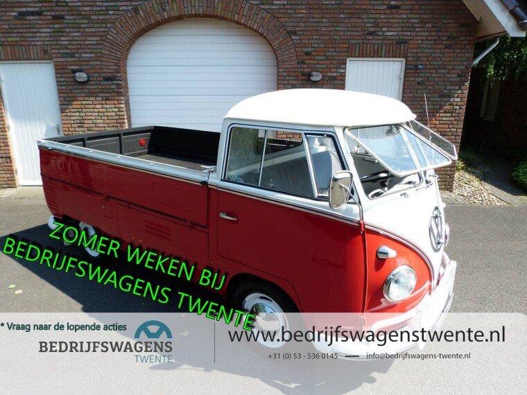 Foto van Volkswagen Transporter T1 Pick-up 1961 Split Window Model 261