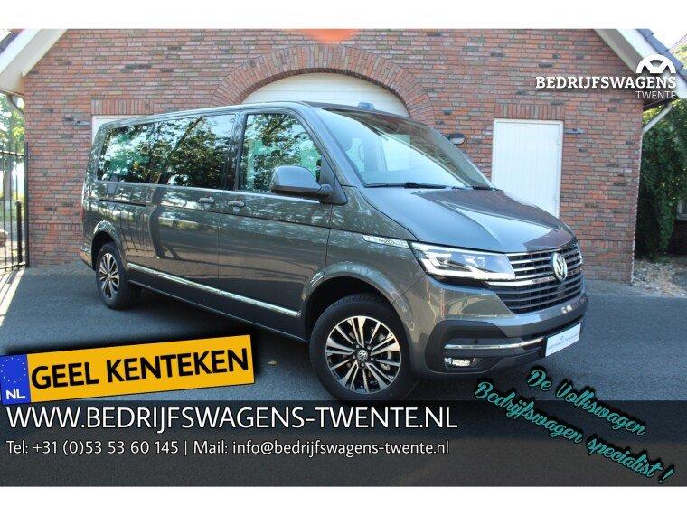 Foto van Volkswagen Caravelle T6 .1 Highline 150 pk DSG | A-DEUREN GEEL KENTEKEN