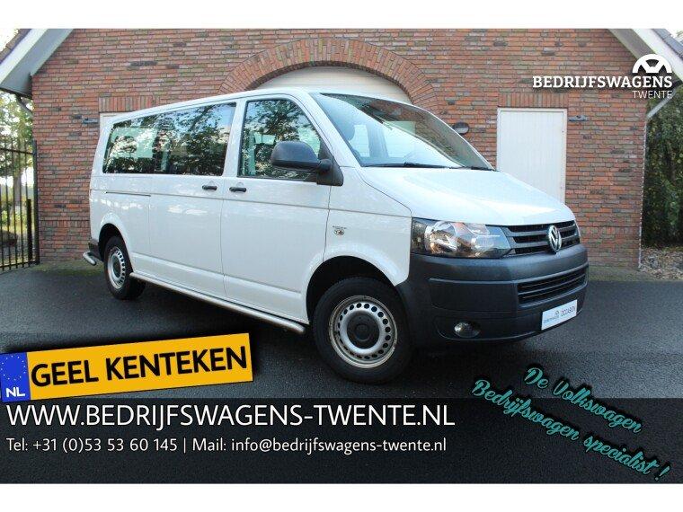 Foto van Volkswagen Transporter T5 2.0 TDI 140 pk DSG GEEL KENTEKEN EXCL BTW