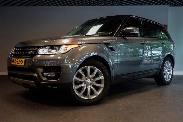 Foto van Land Rover Range Rover Sport 259PK GRIJS KENTEKEN € 35.000,- EXCL. BTW