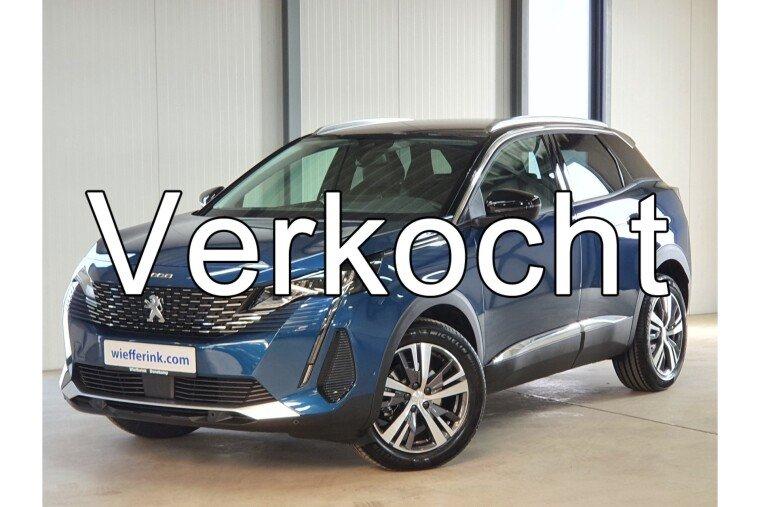 Peugeot 3008 1.2 PureTech Allure Pack 130 pk Automaat navigatie led camera