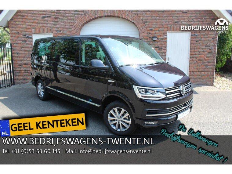 Foto van Volkswagen Caravelle T6 LR GEEL KENTEKEN 150 pk DSG DEUREN HIGHLINE