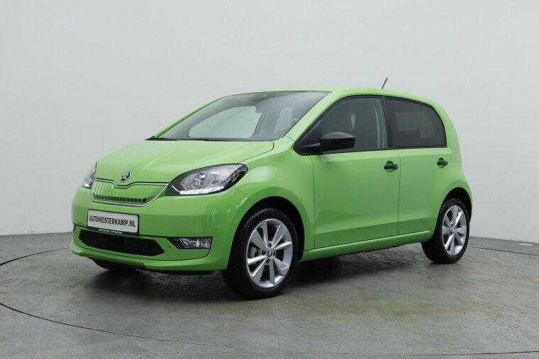 Škoda Citigo e-iV EV Ambition ex btw, Climatronic, 16'' lichtmetalen velgen, Winterpakket, DAB