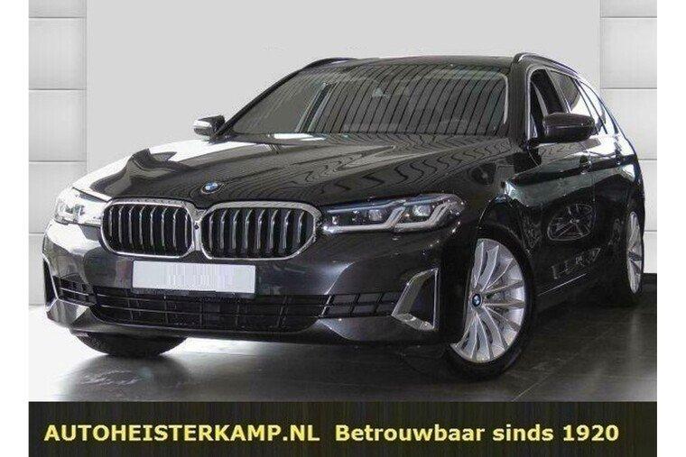 BMW 5 Serie Touring 520d Luxury Line Panoramadak Comfortstoelen 360 Camera
