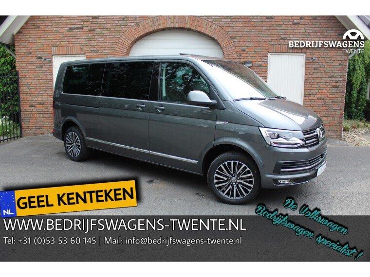 Foto van Volkswagen Multivan T6 LR LANG 198 PK DSG **2019** VOL!! GEEL KENTEKEN